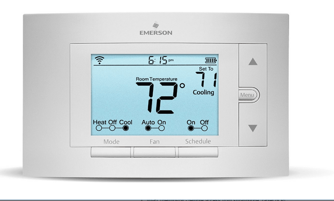 whiterodgers emerson sensi wifi thermsotat